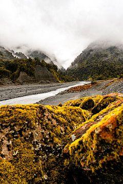 Mysteriöser Nebel in den Bergen Neuseelands von Niels Rurenga