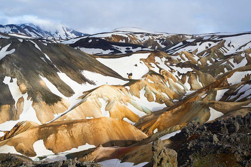 Landmannalaugar IJsland van Jeroen Kleiberg