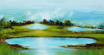 Fantasie landschap von Gena Theheartofart
