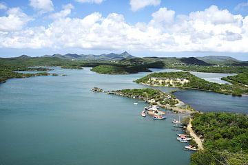 Santa Martha Baai in Curaçao van Manon Verijdt