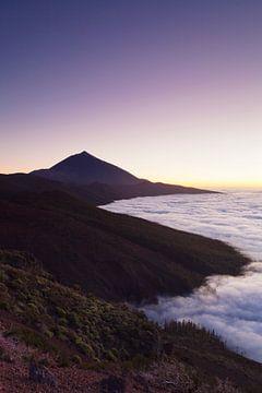 Pico del Teide bei Sonnenuntergang, Teneriffa, Kanarische Inseln, Spanien von Markus Lange