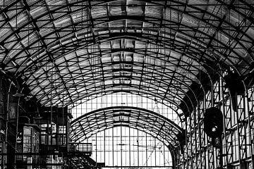 Haarlem Bahnhofsdach von Bart Rondeel