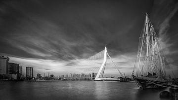 Erasmusbrug Rotterdam van Frans Nijland