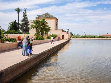 Marrakesh Menara garden van