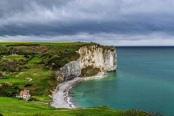 Schöne Küste in Normandie von Gijs Rijsdijk