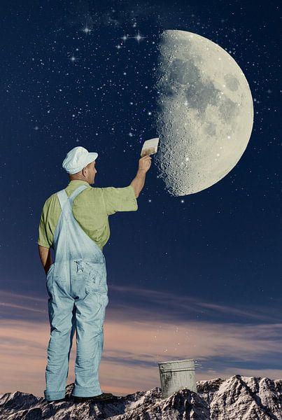 Paint me the Moon sur Marja van den Hurk