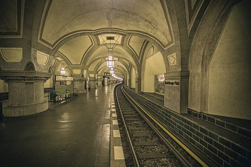 Metrostation Heidelbergerplatz Berlijn