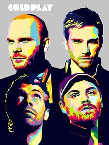 Pop Art Coldplay
