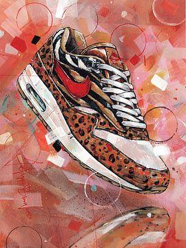 Nike air max 1 Animal pack 1.0  Gemälde von Jos Hoppenbrouwers