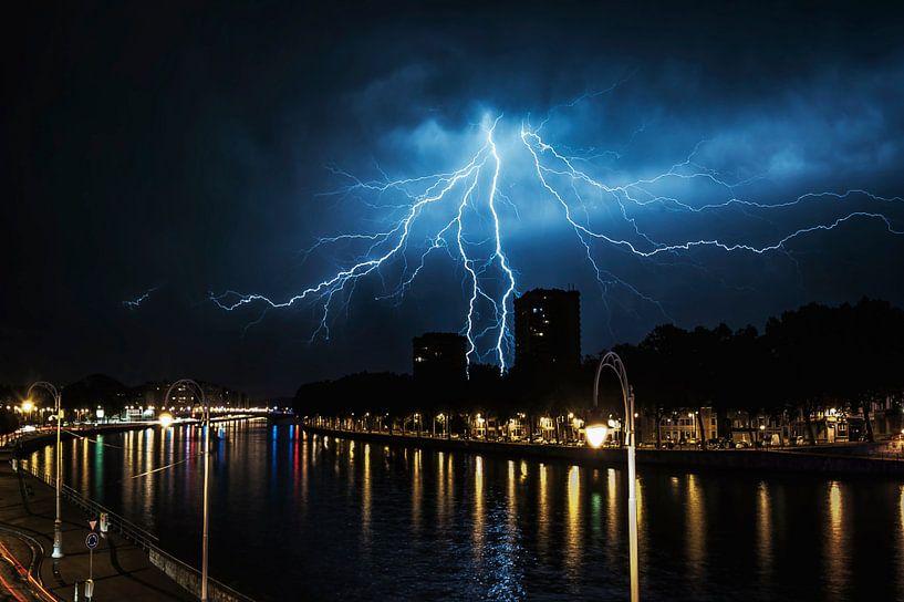 Perfecte timing... van Valerie Leroy Photography