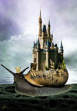 The Queen Of Snails van