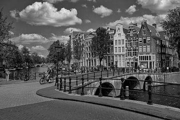 Vue sur le Keizersgracht sur Foto Amsterdam / Peter Bartelings