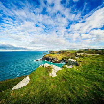 Tintagel Cornwall van Martijn Heemstra