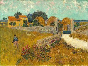 Boerderij in de Provence, Vincent van Gogh