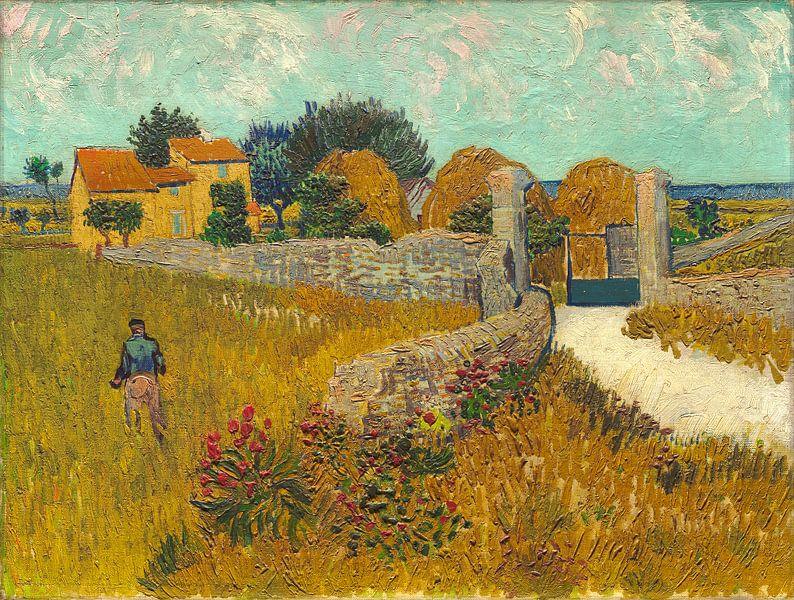 Boerderij in de Provence, Vincent van Gogh van Liszt Collection