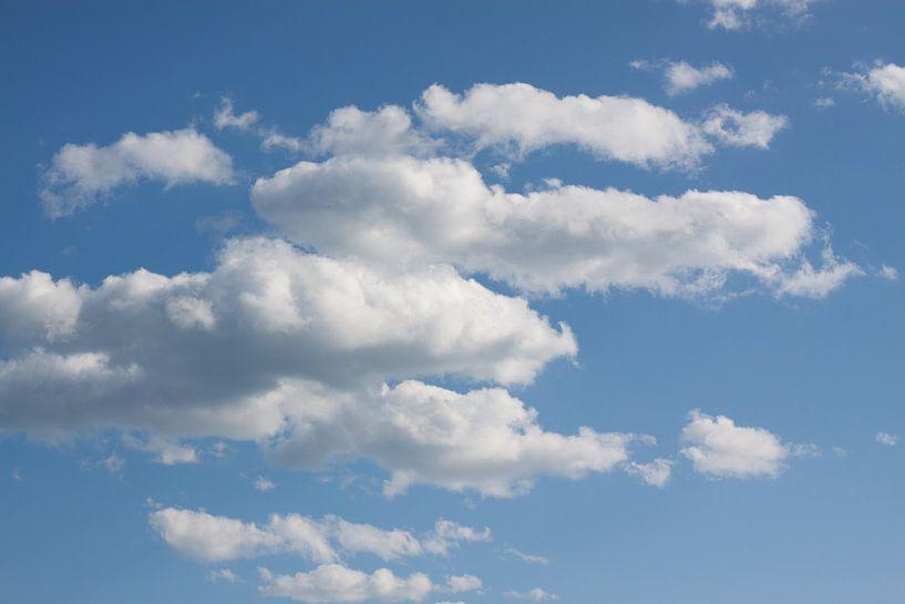 Italiaanse wolken van Marco de Groot