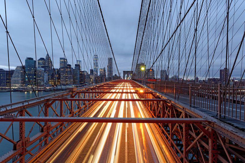 Brooklyn Brücke van Borg Enders