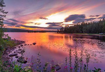 Rannsjön meer, Värmland van Bart Sallé