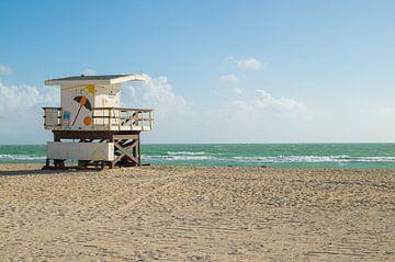Strandwacht huisje van Melissa Serlier