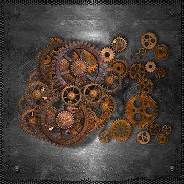 steampunk radertjes-b van