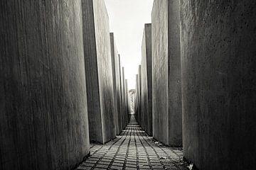 Berlijn - Holocaust memorial  / monument van Mischa Corsius