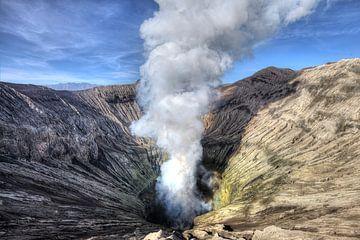 Bromo vulkaan, Indonesië van x imageditor