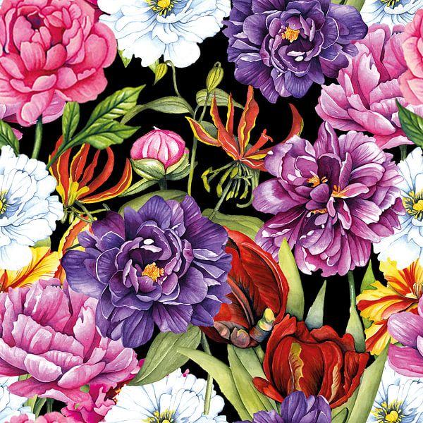 Blumenfestival von Geertje Burgers
