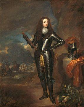 Portrait de Guillaume III, Prince d'Orange et Stadholder, Caspar Netscher sur