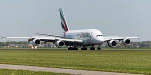 Emirates Airbus A380 vlucht EK147
