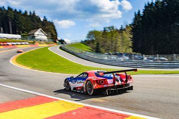 Ford GT Chip Ganassi Racing op Spa Francorchamps van Sjoerd van der Wal