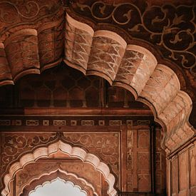 Bogen in prachtig paleis in India (gezien bij vtwonen) van Yvette Baur