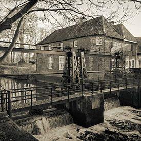 Stoney stuw in Amersfoort van Jan van der Knaap
