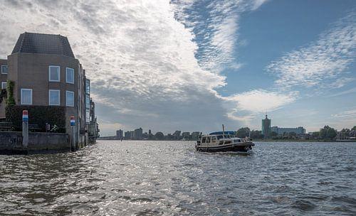 Foto van het water bij Dordrecht