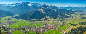 Bad Hindelang and Imbergerhorn, Allgäu