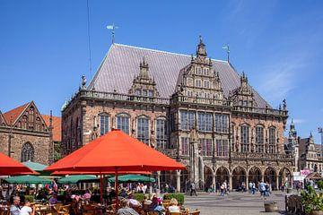 Stadhuis van Bremen, Bremen, Duitsland van Torsten Krüger