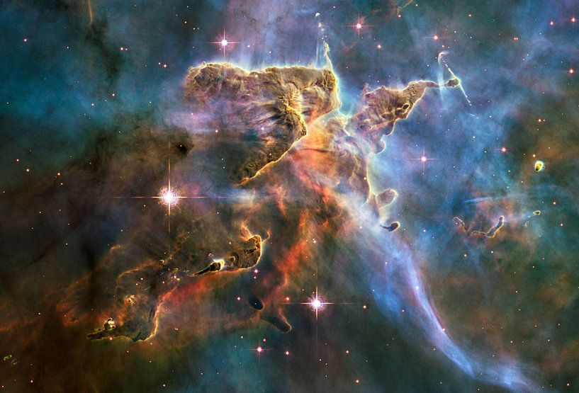 Hubble Spacetelescope. van Brian Morgan