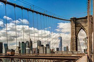 New York Brooklyn Bridge Manhattan