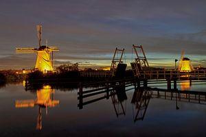 Die Windmühlen von Kinderdijk von René Bitter