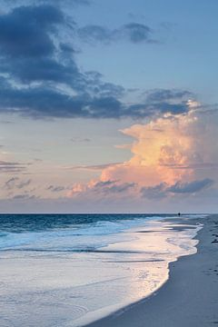 Sonnenuntergang am Strand von Kampen, Sylt, Nordfriesland, Schleswig Holstein, Deutschland von Markus Lange