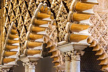 Alcazar de Sevilla sur Harrie Muis