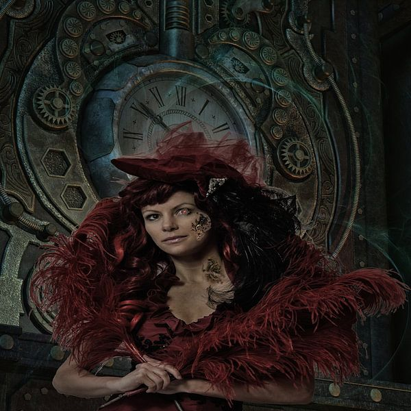 Lady Steampunk van Karin Schwarzgruber