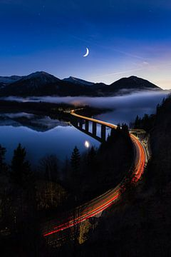 Lichtspuren von Denis Feiner