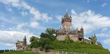 Reichsburg Cochem, Cochem an der Mosel, Mosel, Rheinland-Pfalz, Deutschland, Europa van Torsten Krüger