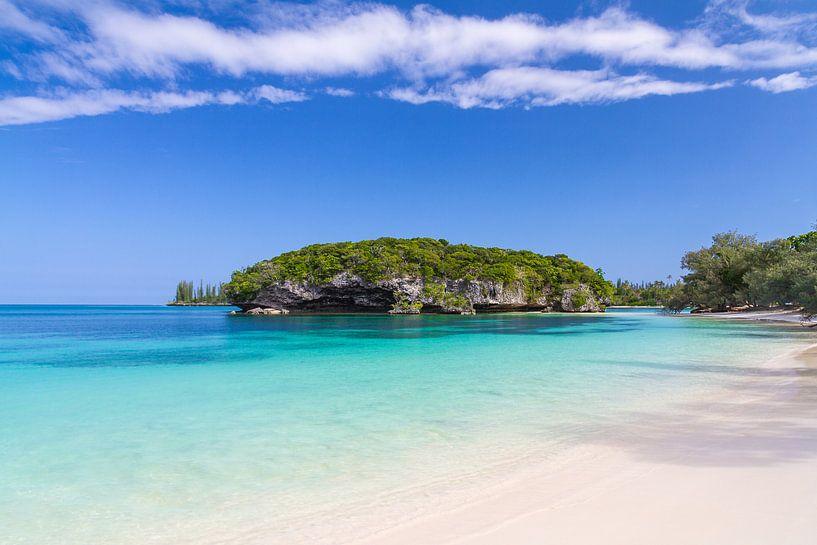 Taboo Rock, Kanumera bay, Ile des Pins, New Caledonië van Erwin Blekkenhorst