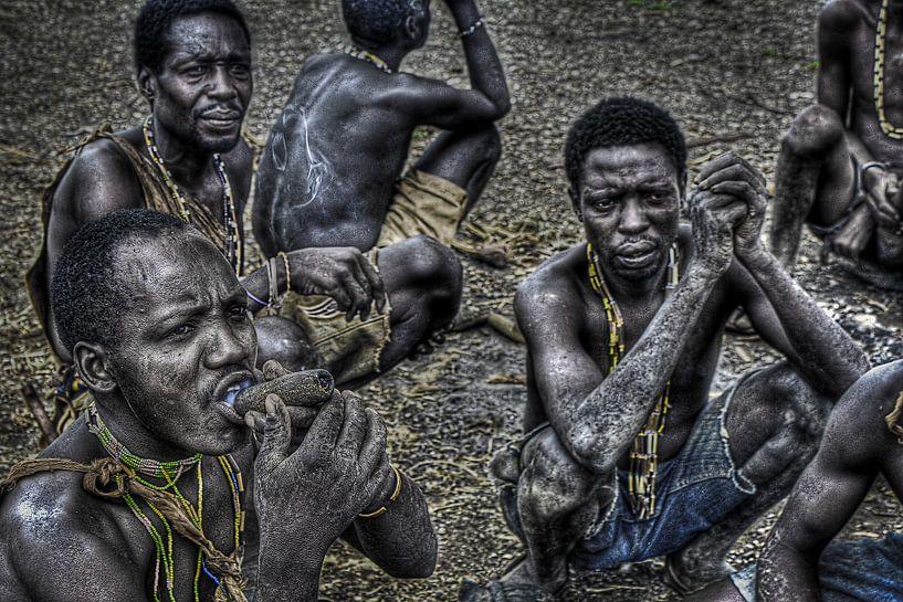 Hadzabe Smokers van BL Photography