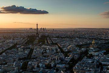Skyline van Parijs van