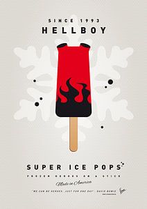 My SUPERHERO ICE POP - Hellboy