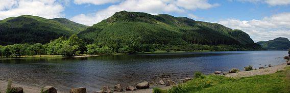 Een Loch in de Highlands van Schotland van Jeroen van Deel
