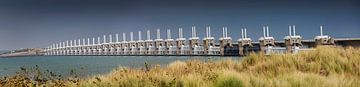 Panorama du barrage anti-tempête de Oosterschelde