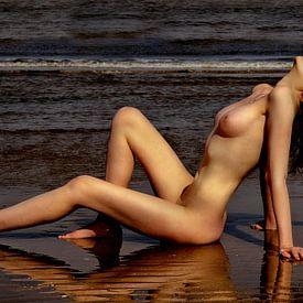 Lasst die Sonne über Mir untergehen (nackt / nackt) von Kees de Knegt